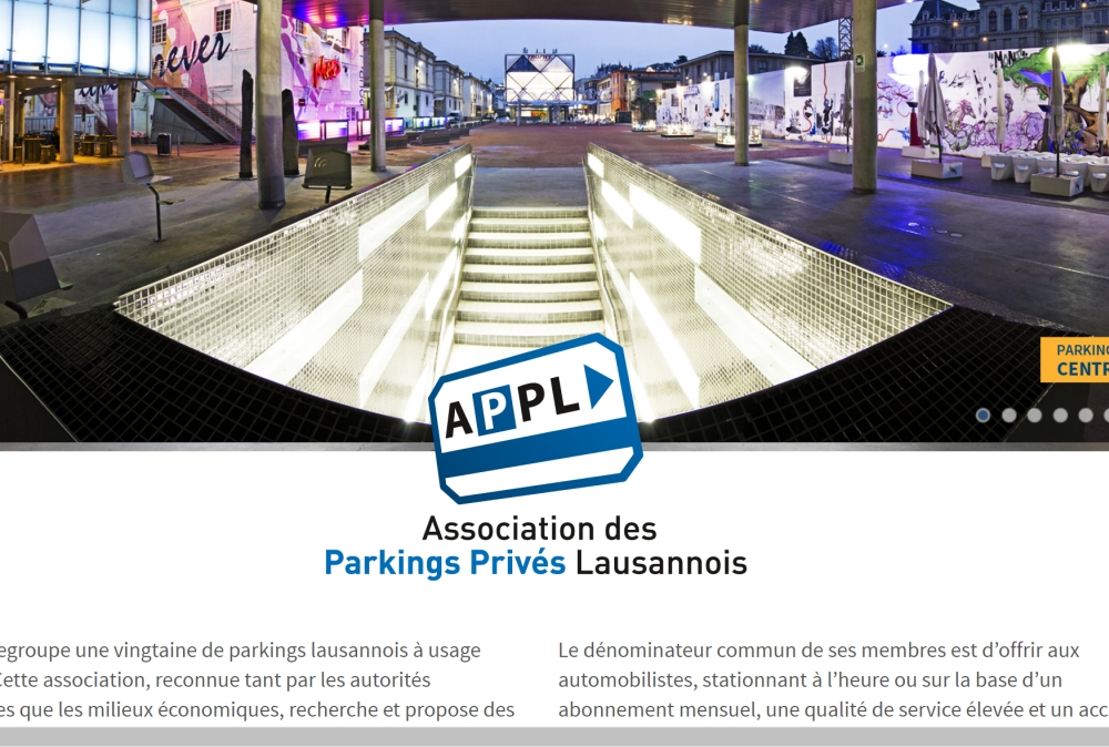 Association des Parkings Privés Lausannois | APPL
