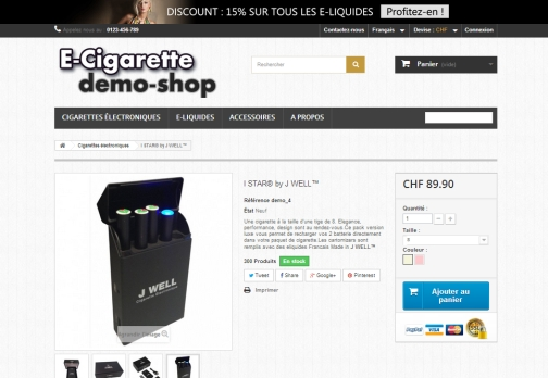 Shop E-cigarette