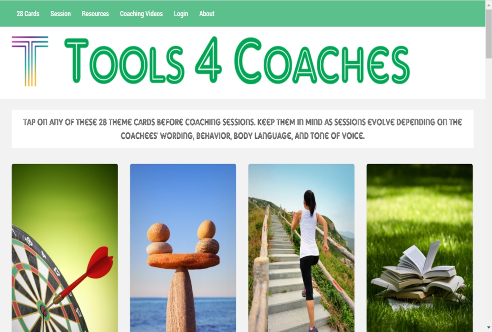 Tools for Coaches